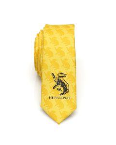 Hufflepuff Check Men's Skinny Tie