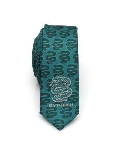 Slytherin Check Men's Skinny Tie