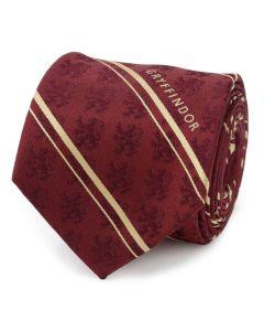 Gryffindor Maroon Stripe Silk Men's Tie