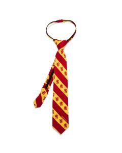 Gryffindor Stripe Boys' Zipper Tie