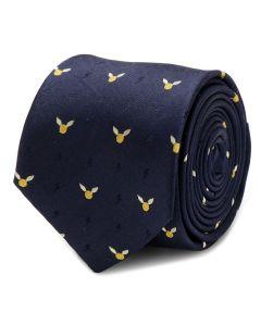 Golden Snitch Dot Tie