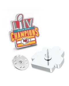 Limited Edition 2020 Kansas City Chiefs Super Bowl Champions Lapel Pin