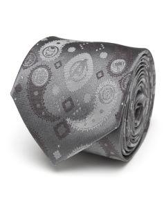 Avengers Paisley Icons Print Tie