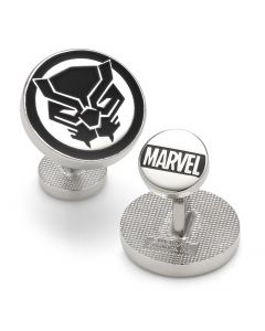 Black Panther Mask Cufflinks