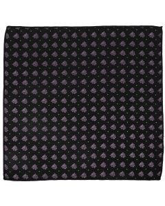 Black Panther Black Pocket Square