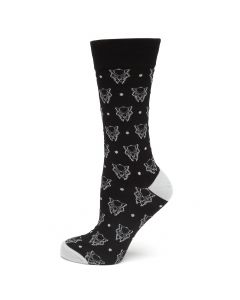 Black Panther Dot Sock