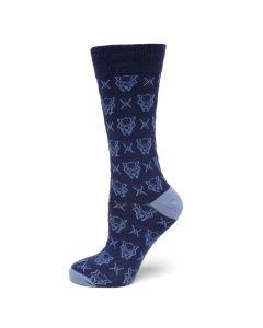 Black Panther Blue Sock