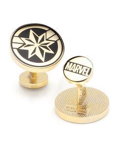 Captain Marvel Cufflinks