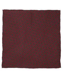 Deadpool Red Mask Silk Pocket Square