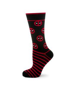 Deadpool Stripe Black Socks
