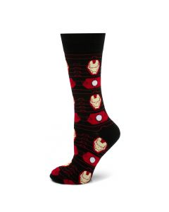 Iron Man Stripe Black Socks
