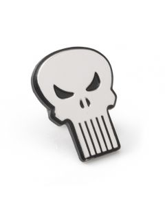 The Punisher Silver Lapel Pin