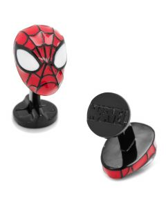 3D Spider-Man Cufflinks
