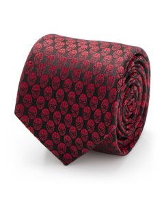 Spider-Man Mask Red Men's Tie