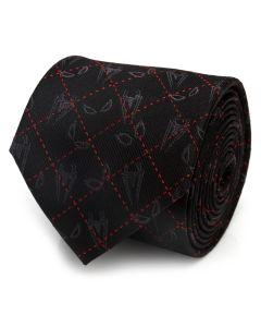 Spider-Man Eyes Diamond Men's Tie