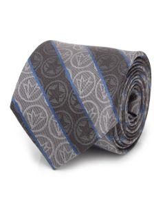 Winter Soldier and Falcon Gray Men's Tie