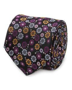 X-Men Floral Charcoal Men's Tie