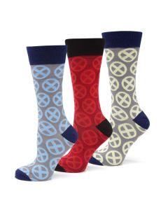 X-Men Socks 3 Pack Gift Set