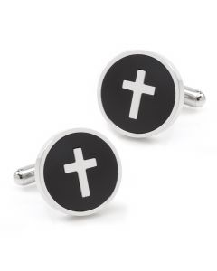 Cross Onyx Stainless Steel Cufflinks