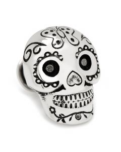 3D Day of the Dead Skull Lapel Pin