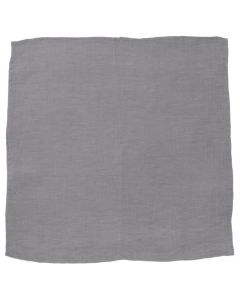 Gray Linen Pocket Square