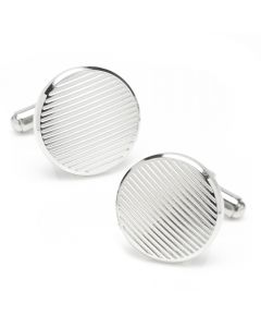 Line Stainless Steel Cufflinks