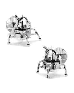 3D Moon Lander Cufflinks