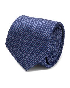 The Mitchell Tie (Iridescent Basketweave Men's Tie