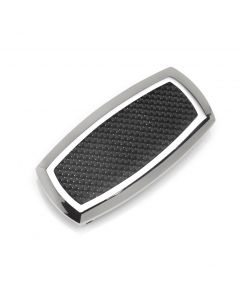 Stainless Steel Inlaid Black Carbon Fiber Money Clip