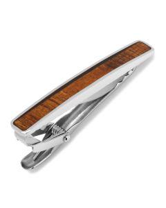 Stainless Steel Wood Tie Clip
