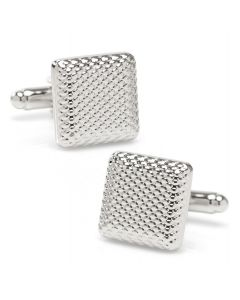 Silver Textured Square