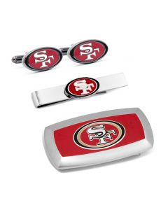 San Francisco 49er's 3-Piece Cushion Gift Set