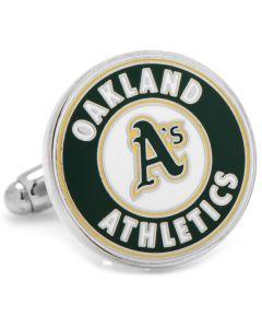 Oakland A's Cufflinks