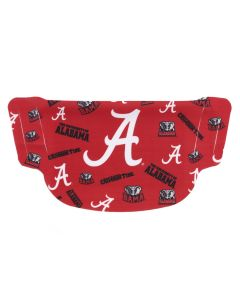 University of Alabama Dot Face Mask