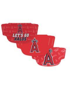 Los Angeles Angels 3 Pack Face Masks