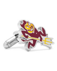 Arizona State University Sparky Cufflinks