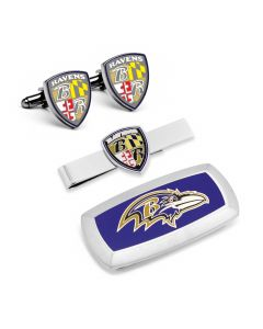 Baltimore Ravens Shield 3-Piece Cushion Gift Set