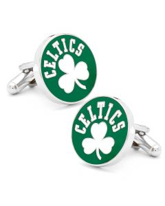 Retro Boston Celtics Cufflinks