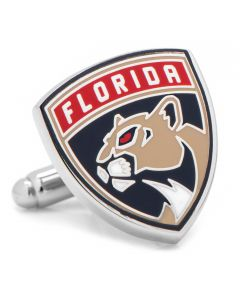 Florida Panthers Shield Cufflinks
