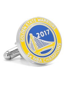 2017 Golden State Warriors Champions Cufflinks