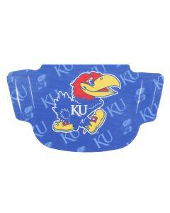 University of Kansas Stripe Face Mask