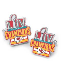 Limited Edition 2020 Kansas City Chiefs Super Bowl Champions Cufflinks