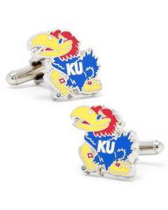 Kansas University Jayhawks Cufflinks
