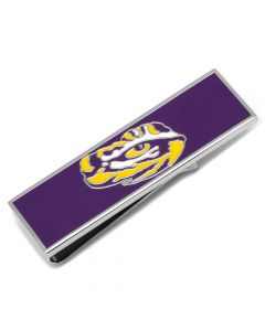 LSU Tiger's Eye Money Clip