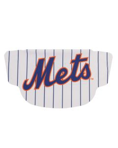New York Mets Pin Stripe Face Mask