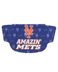 New York Mets Dot Face Mask