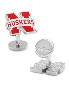 Palladium University of Nebraska Cornhuskers Cufflinks