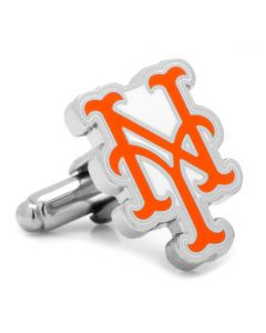 Silver New York Mets Cufflinks