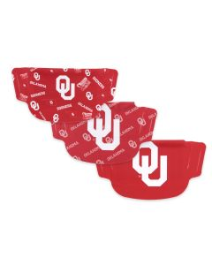University of Oklahoma 3 Pack Face Masks