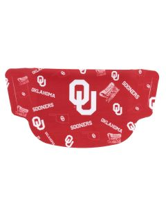 University of Oklahoma Dot Face Mask